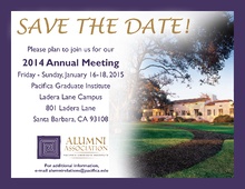 PGIAA 2014 Annual Meeting Flyer