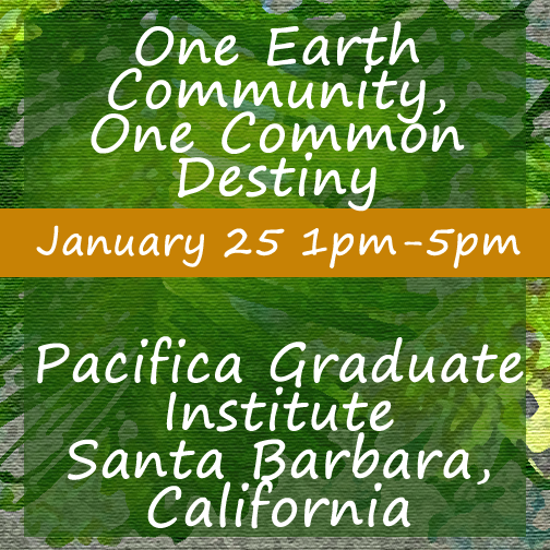 Pacifica Graduate Institute Event Flyer