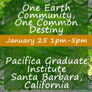 Pacifica Graduate Institute Event Flyer