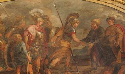Painting of Greek Mythology Hero Jason