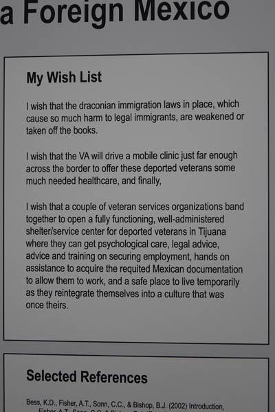 Wish List for Mexico Fieldwork