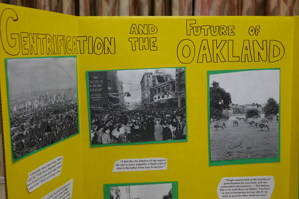Gentrification and the Future of Oakland Fieldwork
