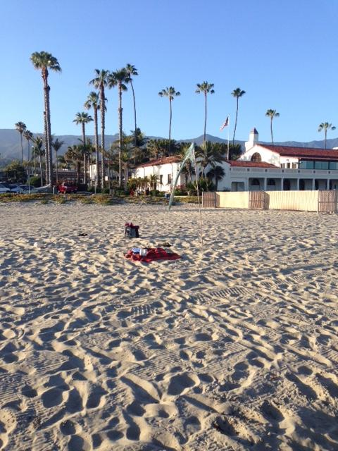 Ecopsychology Grief Gathering at East Beach in Santa Barbara