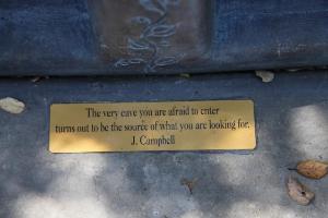 Joseph Campbell Quote Plaque