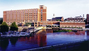 University of Massachusetts Lowell Campus View